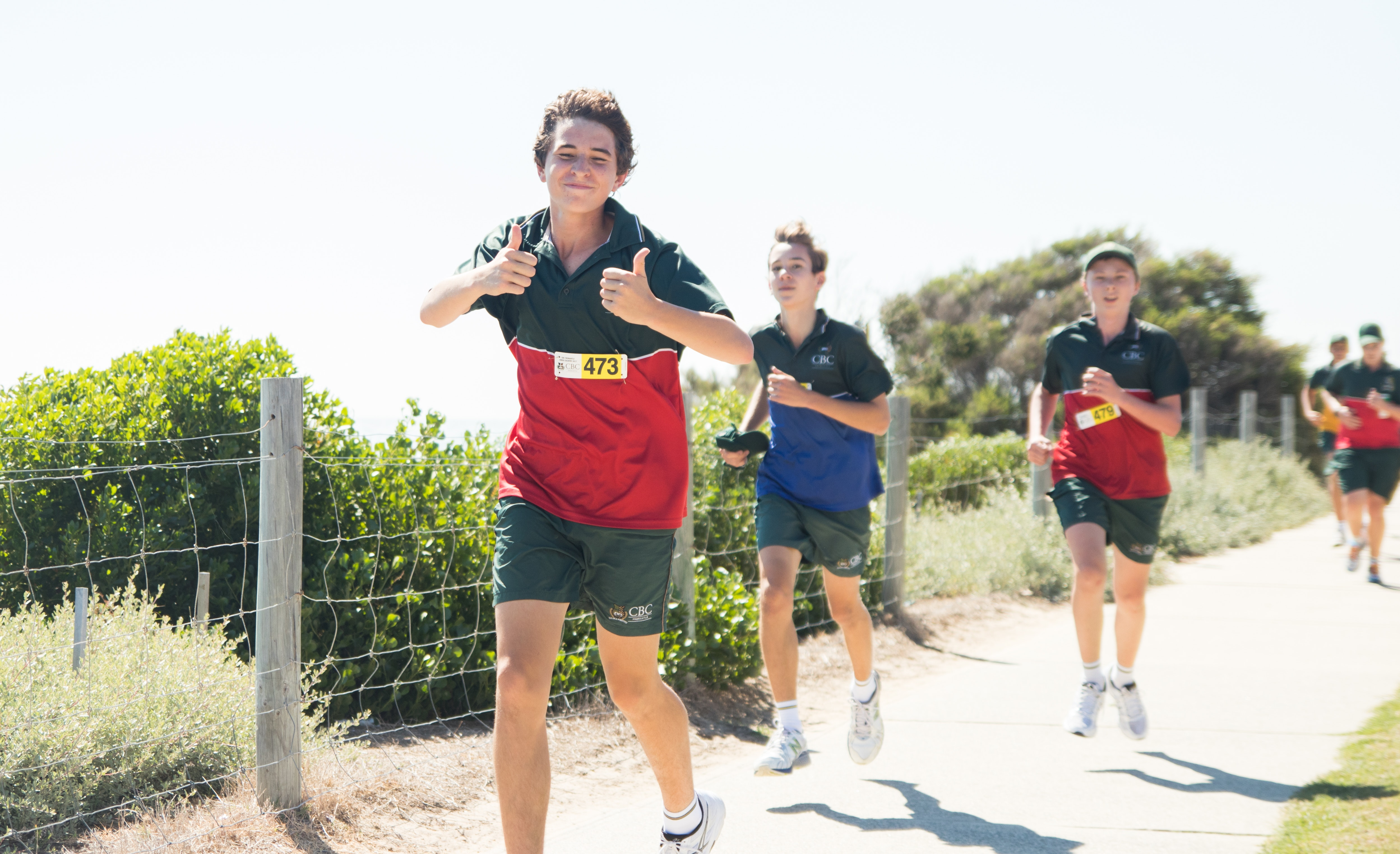 Patrick dominates House Cross Country